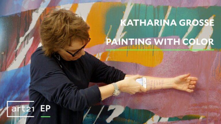 Katharina Grosse: when I started painting I stopped reading