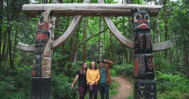Three youth undergo Raincoast's first year-long training program