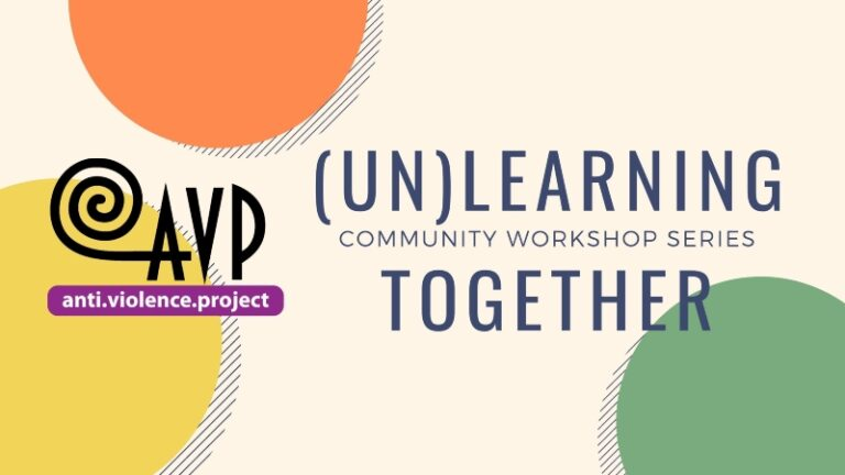 (Un)learning Together: A community workshop series