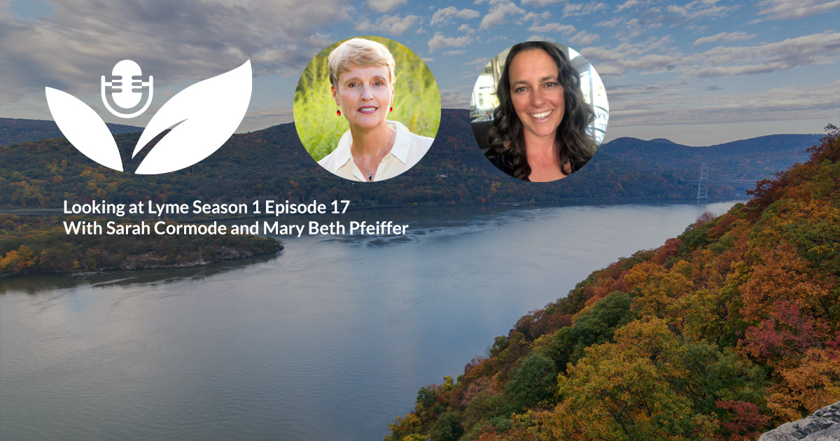 s1 e17 interview with mary beth pfeiffer author of lyme the first epidemic of climate change