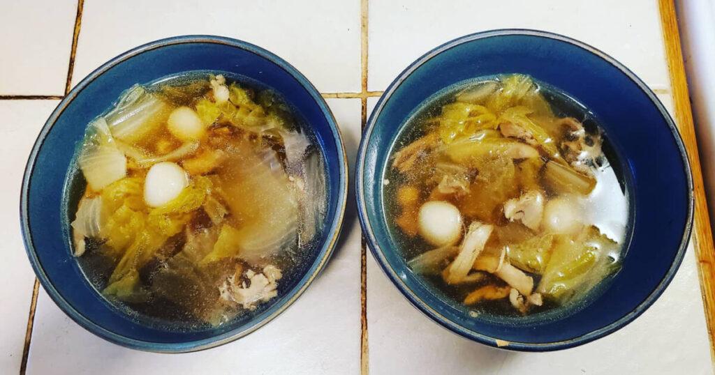 chicken dumplings chinese style