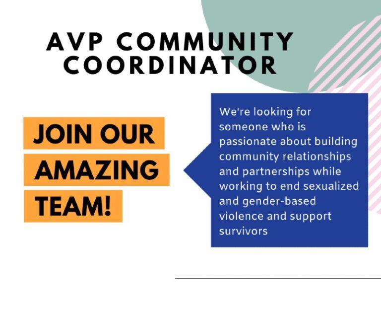 We're hiring a Community Coordinator