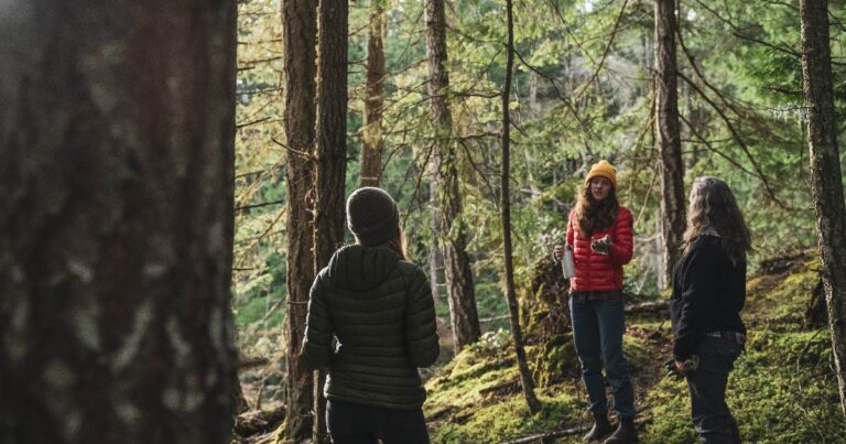 Carbon stewardship workshop focusing on Gulf Islands forests and coasts