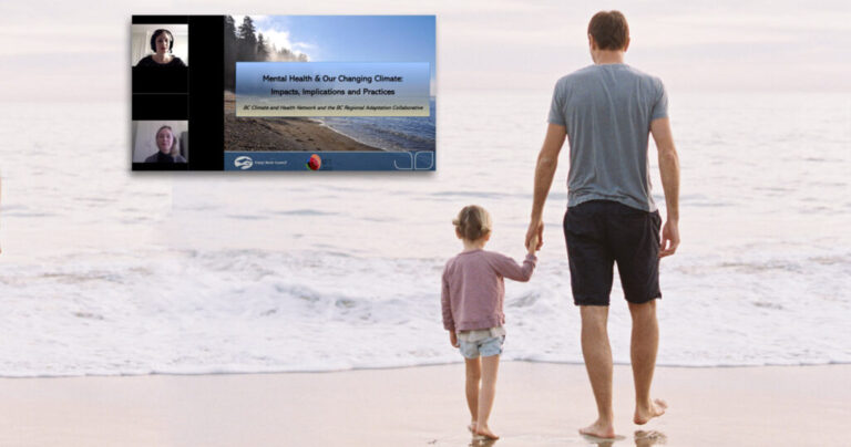 Webinar recording: Mental Health & Our Changing Climate