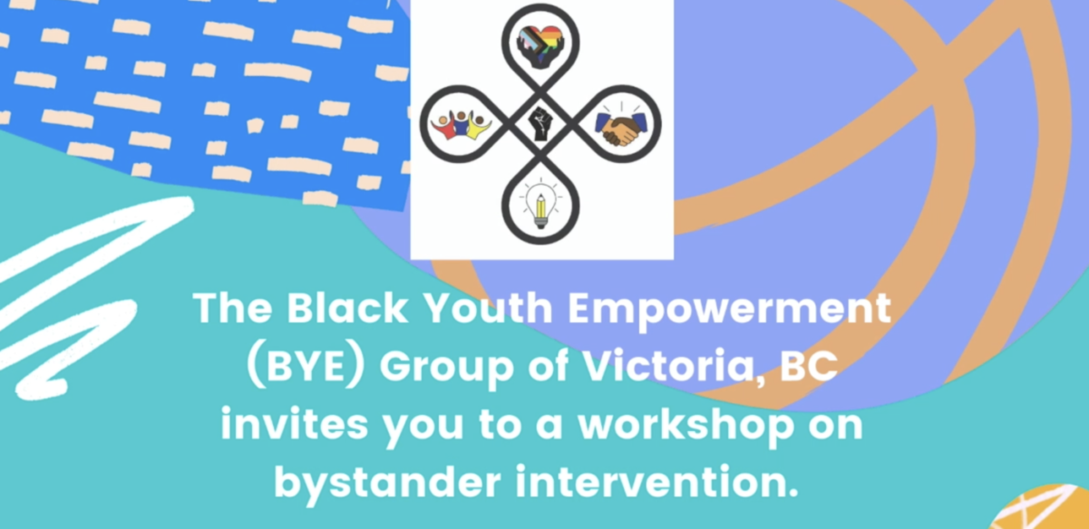 The Black Youth Empowerment Group of Victoria invites you to a workshop on bystander intervention.