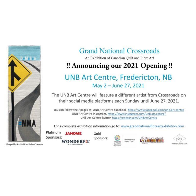 "Grand National Fibre Art Exhibition ""Crossroads"""