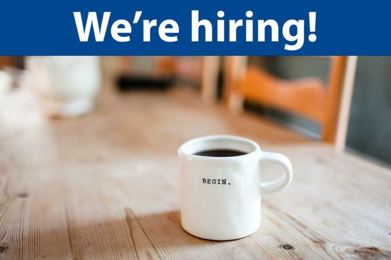 We're looking for a Community Program Coordinator
