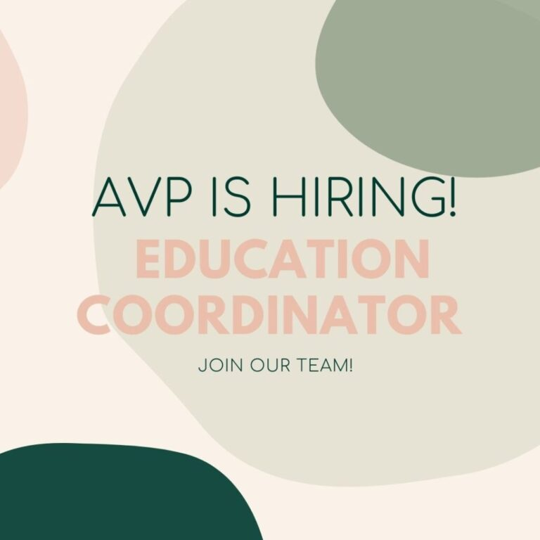 We're searching for a new Education Coordinator