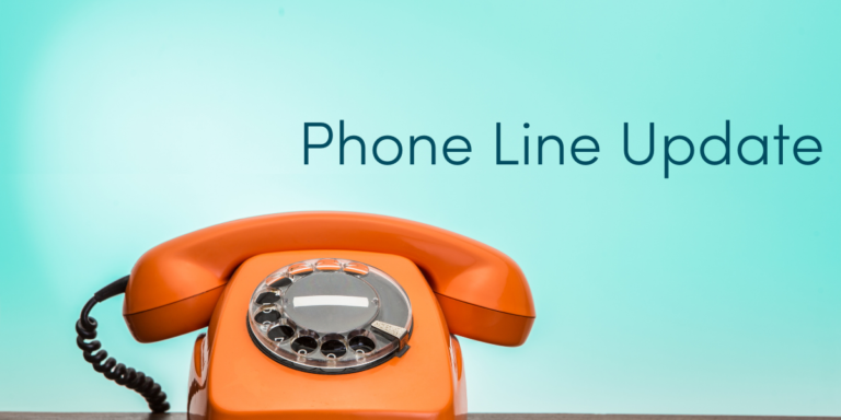 Temporary changes to phone line hours