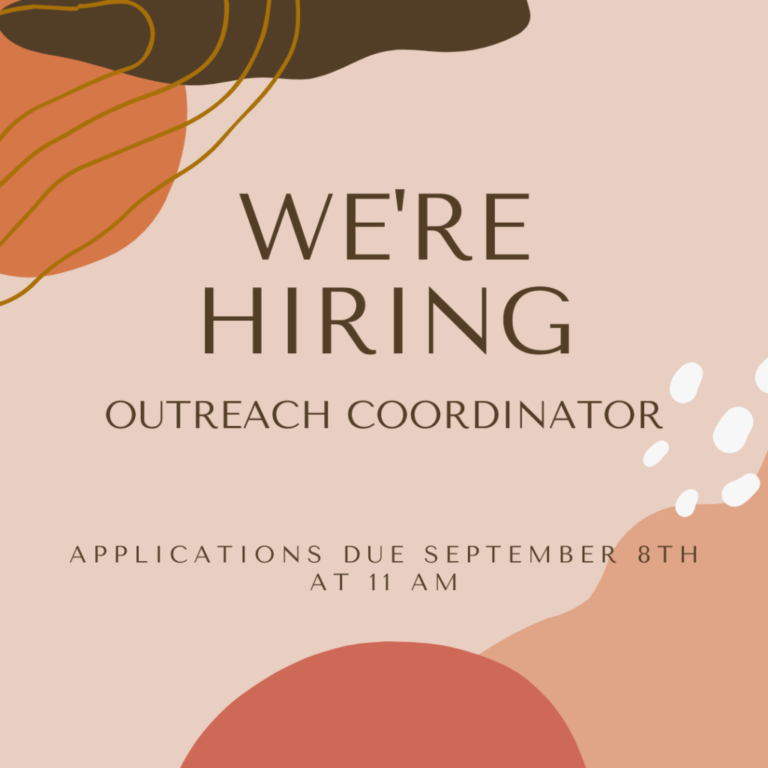 AVP is Hiring! We're Searching for an Outreach Coordinator.