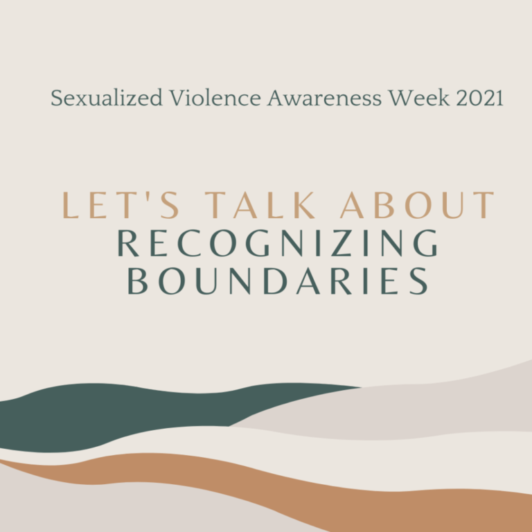 Let's Talk About Boundaries: Recognizing Our Own Boundaries and the Boundaries of Others