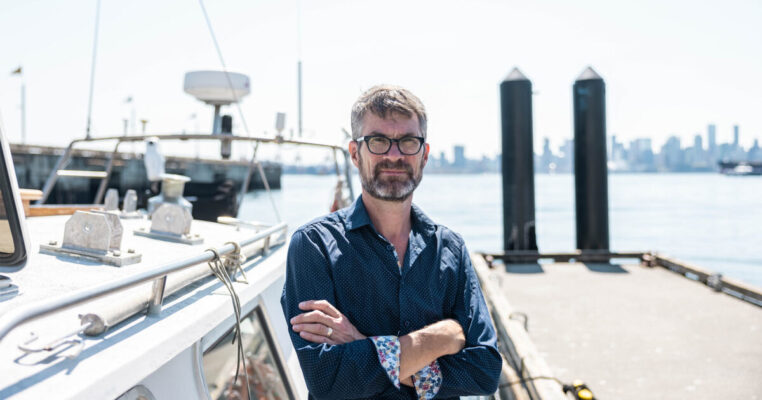 Meet Dr. Peter Ross, Director of Raincoast's new Healthy Waters program