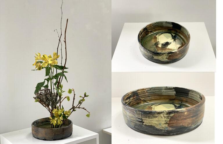 Shallow round vase (4B)