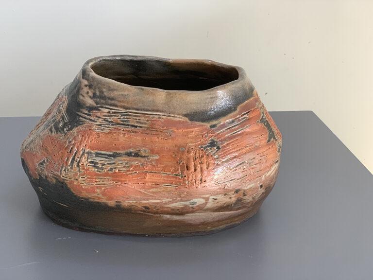 Short pottery vase (6P)