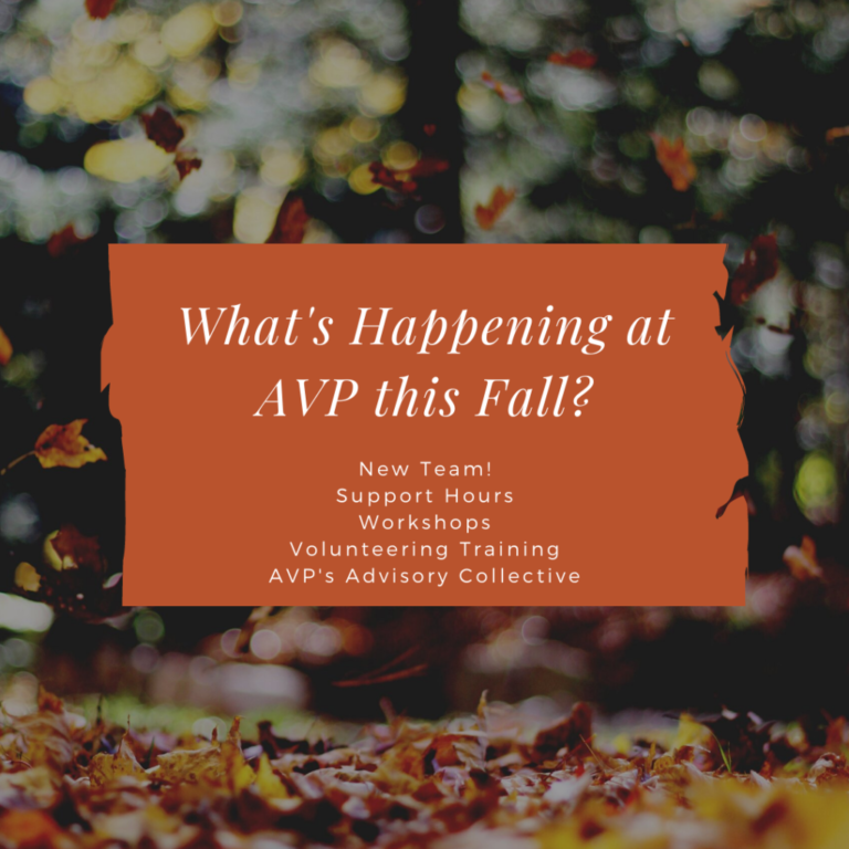 What's Happening at AVP this Fall?