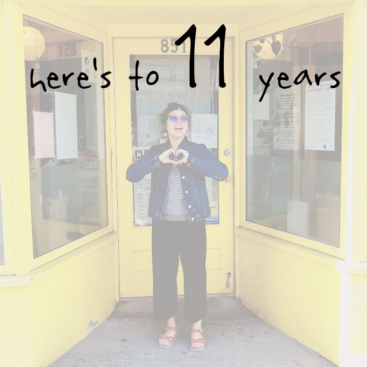 Here's to 11 years.